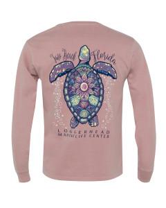 Bubbling Sea Turtle Long Sleeve Shirt