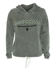 Looper Woodland Burnout Wash Fleece Hoodie