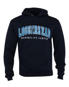 Powerblend Fleece Hooded Sweatshirt Loggerhead Applique