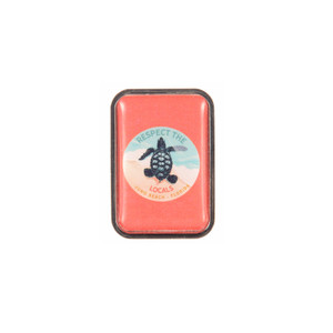 Respect The Locals Hatchling Lapel Pin