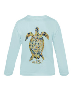 Children's Long Sleeve Dri Fit Sea Turtle