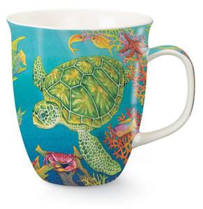 Sea Turtle Reef Mug - 15 oz.