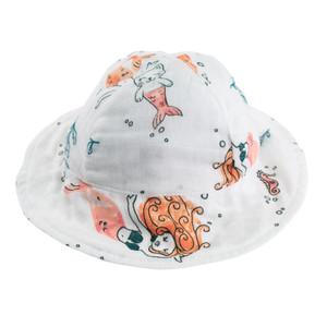 Mermaids Luxury Muslin Sun Hat