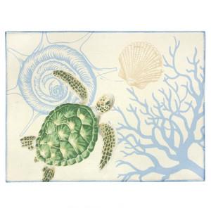 Honu Voyage Sea Turtle Drying Mat