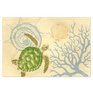 Honu Voyage Sea Turtle Fabric Placemat