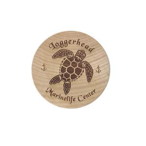 Round Wood Magnet Bottle Opener