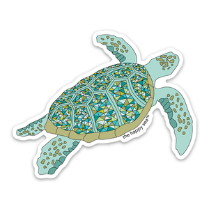 Protect What You Love Sea Turtle Sticker