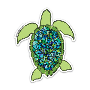 Happy Sea Turtle Sticker