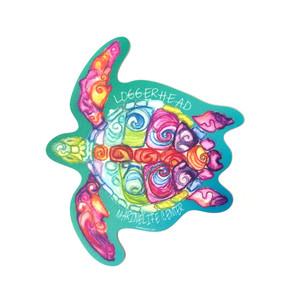 Descent Sea Turtle LMC Sticker