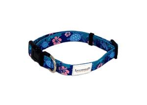 Tropical Sea Turtles Dog Collar