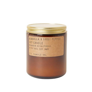 Vanilla & Ghost Pepper Soy Candle - 7.2 oz