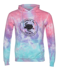 Respect the Locals Tie Dye Pullover