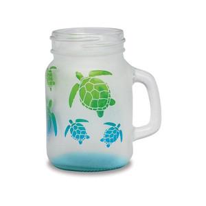 Ball Jar Sea Turtle Shot Glass - 5 oz.