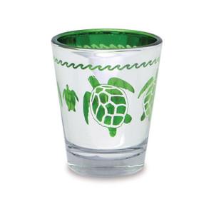 Metallic Sea Turtle Shot Glass - 1.5 oz.