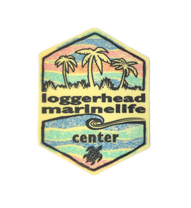 Badge of Honor Sea Turtle LMC Sticker