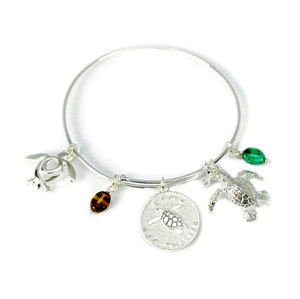 I Love Sea Turtles Bracelet