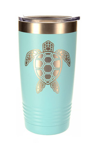 Sea Turtle Laser Etched Tumbler