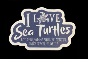I Love Sea Turtles Sticker