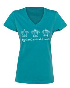 Mia V-Neck Ladies T-Shirt