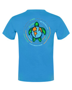 Global Sea Turtle Short Sleeve T-Shirt