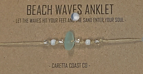 Beach Waves Anklet