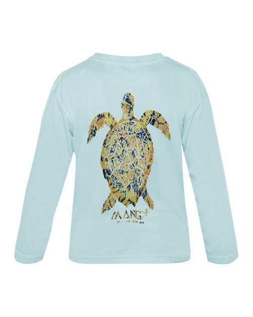 Children's Long Sleeve Dri Fit Sea Turtle