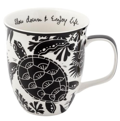 Boho Sea Turtle Mug