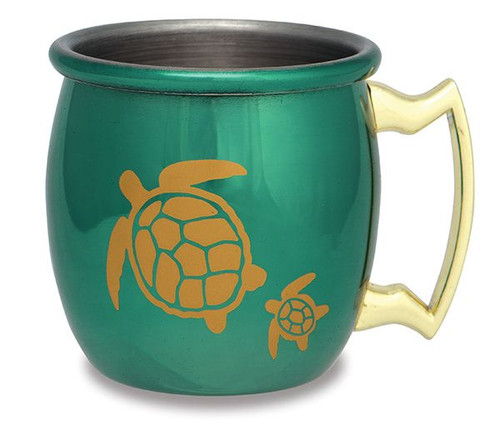 Moscow Mule Sea Turtle Shot Glass