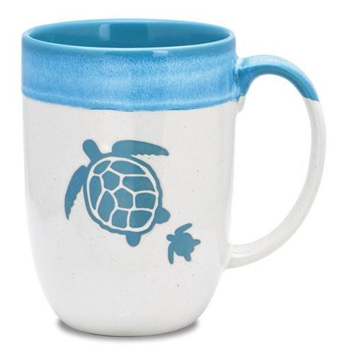 Dipped Mug Sea Turtle