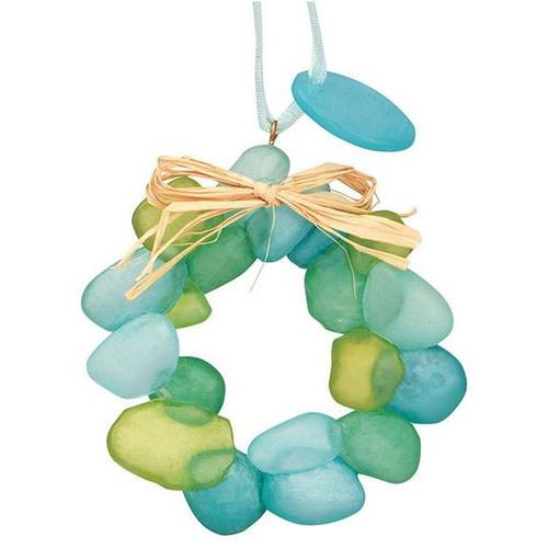 Sea Glass Wreath Ornament