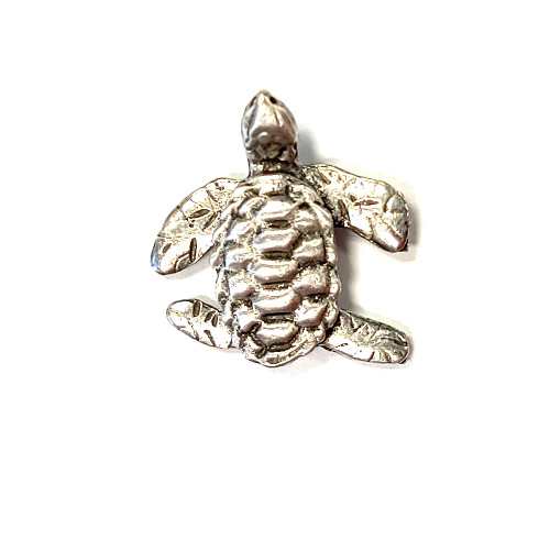 Pewter Sea Turtle Lapel Pin