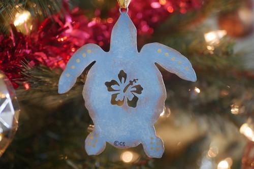 Metal Turtle Ornament