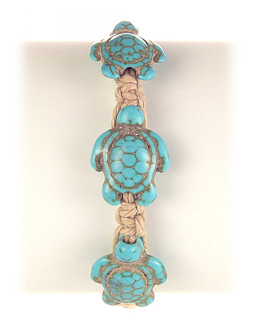 Hemp Sea Turtle Bracelet