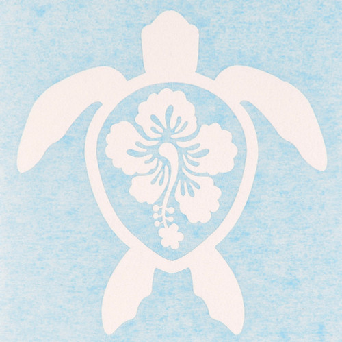 Tropical Turtle Decal