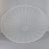 15in Diameter Frosted Bell Shade with 1-5/8in Hole