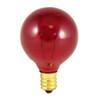 10W Red E-12 Base 1-1/2in. Globe Bulb