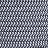 16/2 Black/White Hounds Tooth SPT-2 Cloth Corvered Overbraid Wire
