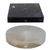 Stone Lamp Bases