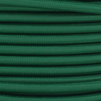 16/3 SJT-B Green Nylon Fabric Cloth Covered Lamp and Lighting Wire.