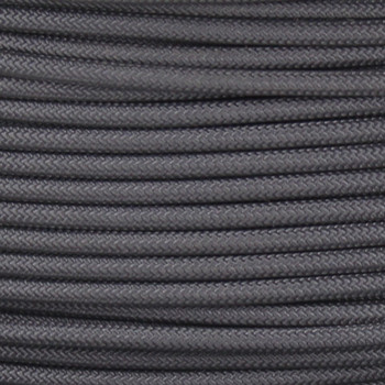 16/1 Gray Cloth Covered  AWM Stranded Wire with Decorative Braid