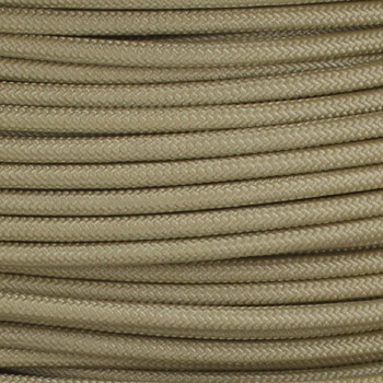 16/1 Antique Gold Cloth Covered  AWM Stranded Wire with Decorative Braid