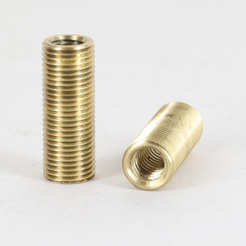 1/4-20 UNC X 1/8ips Threaded 1in Long Headless Reducer