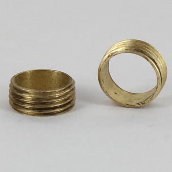 3/8in. x 3/8ips. Threaded Brass Hollow Nipple