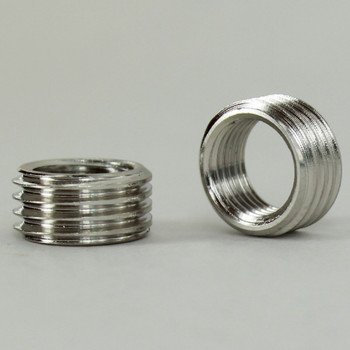1/8ips. Female X 1/4ips. Male Thread Nickel Plated Finish Reducer without Shoulder