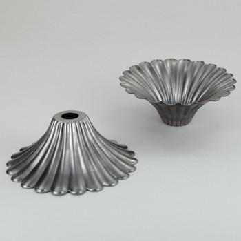 3in. Unfinished Steel Deep Petal Bobesche