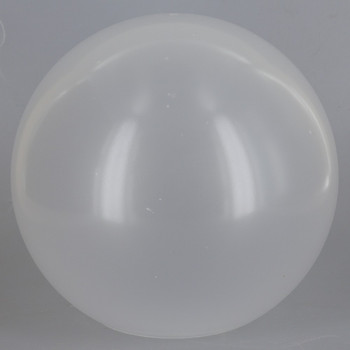 16in Diameter X 5-1/4in Diameter Hole Acrylic Neckless Ball - Frosted