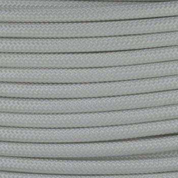 18/1 Single Conductor White Nylon Over Braid AWM 105 Degree White Wire