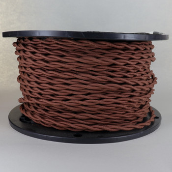 18/2 AWG - COPPER TWISTED FABRIC CLOTH COVERED LAMP WIRE