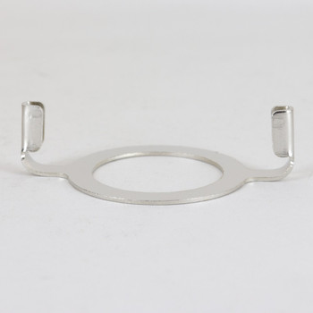 1-9/16in Hole Regular Duty Harp Bottom - Polished Nickel