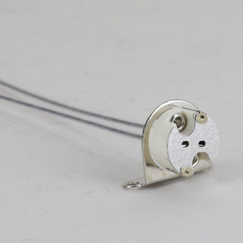 GZ4 GX5.3 (GU5.3) G6.35 GY6.35Bulb Base Lamp Socket With 90 Degree Mounting Bracket